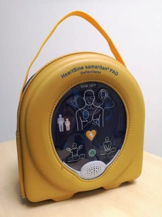 HeartSine AED Forward Hearts Donation